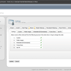 Shoutcast Server AutoDJ playlists